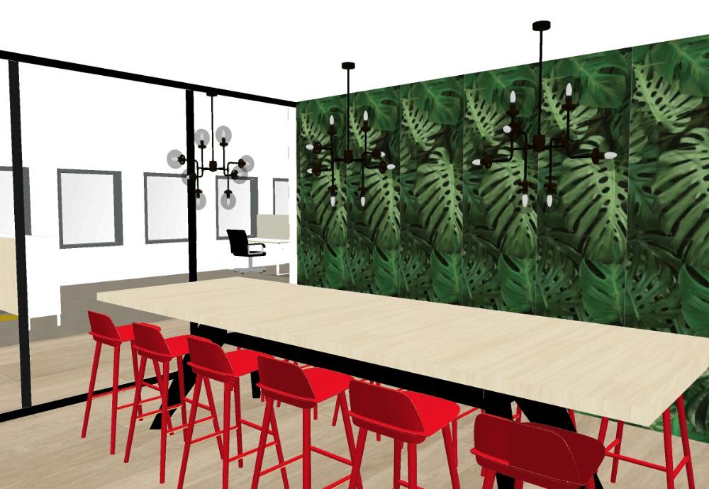 3D ontwerp kantoor Heerenveen