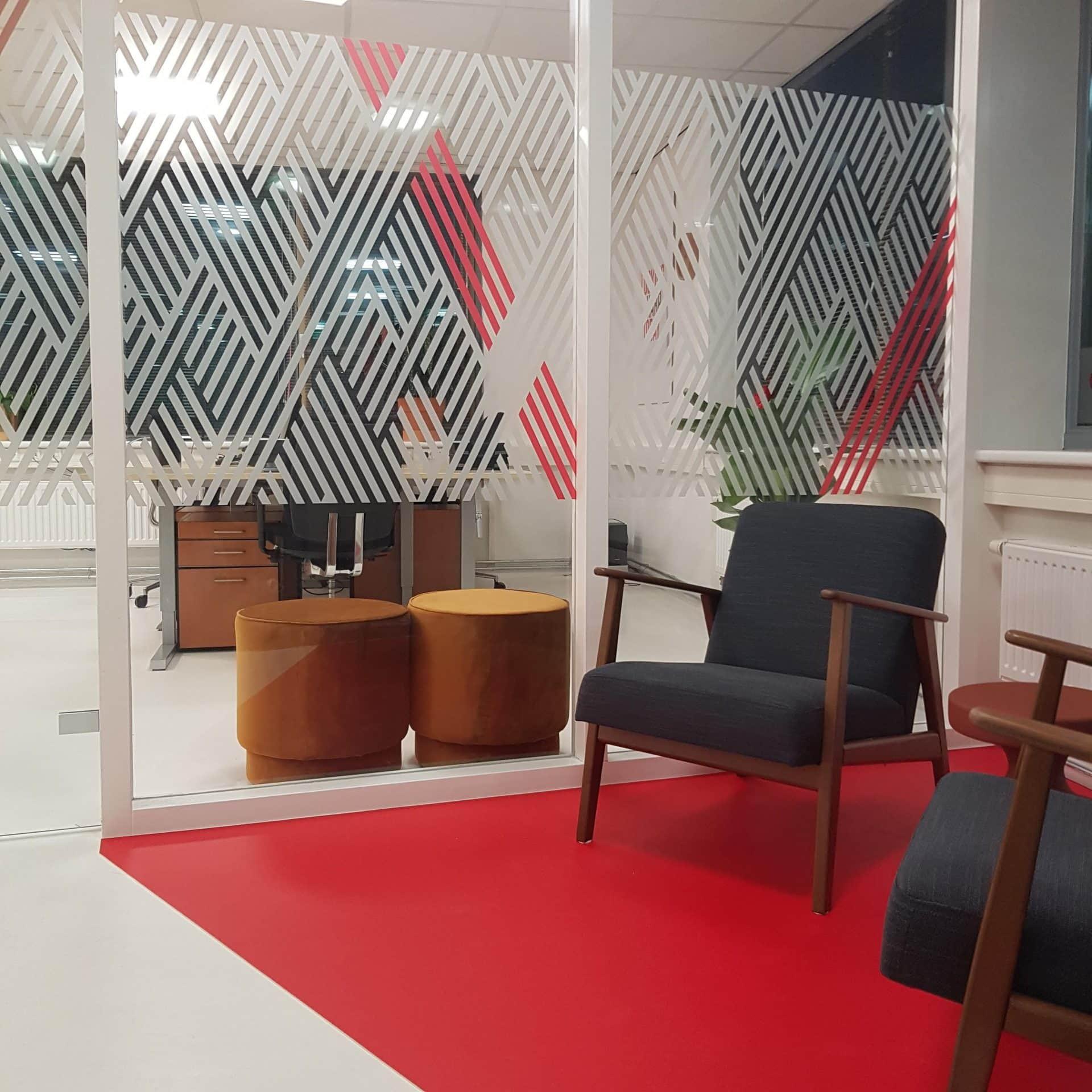 resultaat interieurontwerp kantoor Sharp