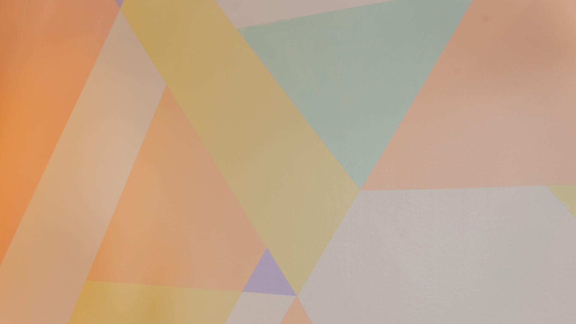 resultaat Interieurontwerp verloskundigenpraktijk kleurvlakken