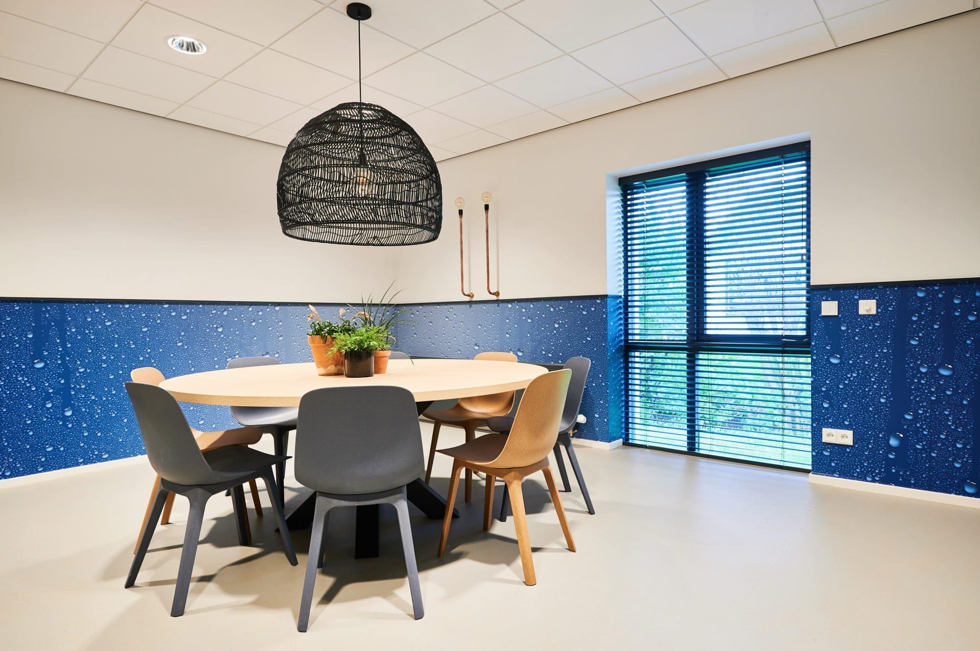 interieurontwerp resultaat kantoor kantine installatiebedrijf