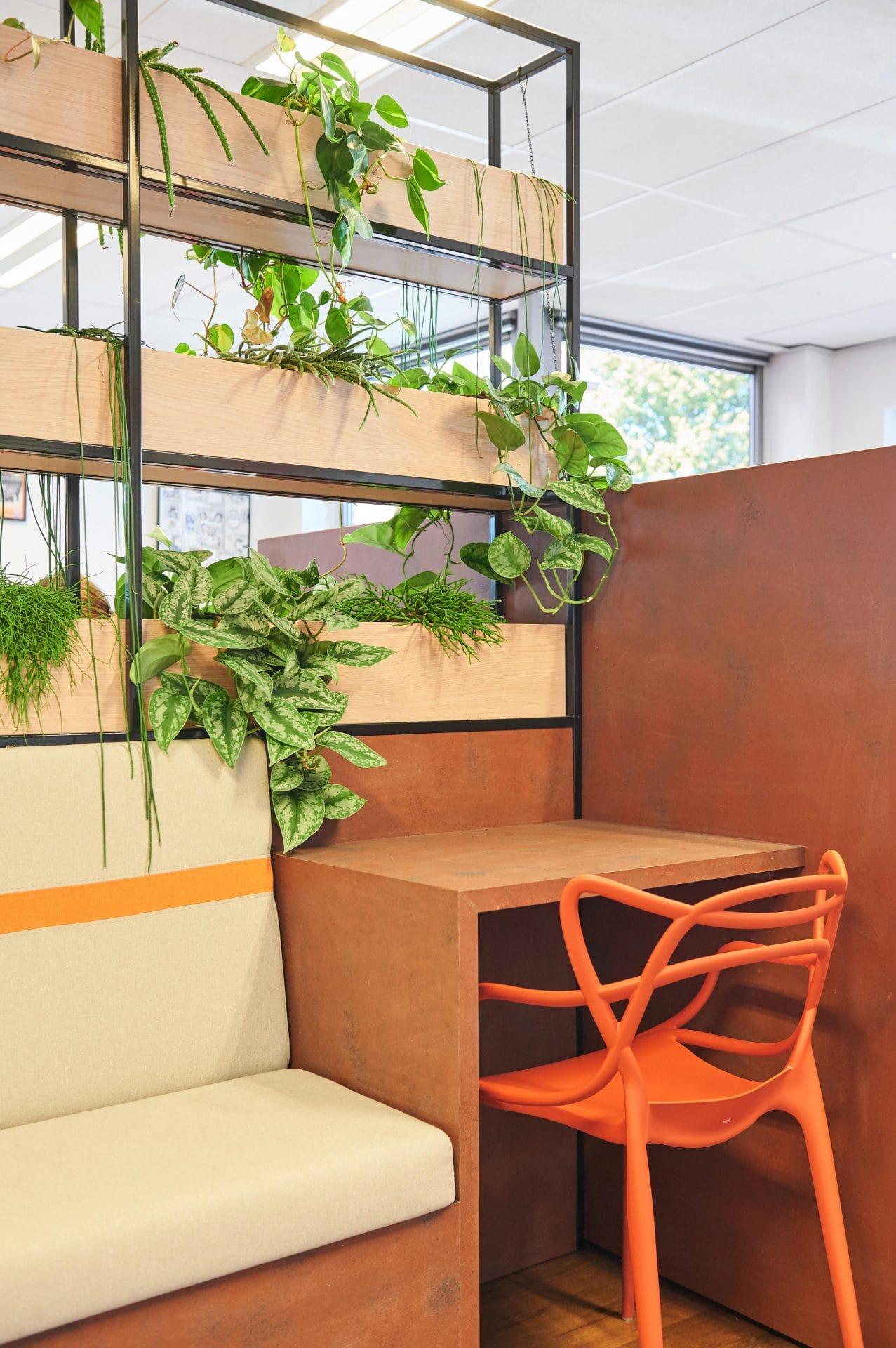 Kantoor Werktijd uitzendbureau - Favoriet Interieurontwerp